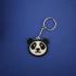Panda Face Keychain image