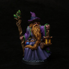Picture of print of Old wizard