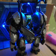 "Picture of print of ""Mech Repair"" - Diorama This print has been uploaded by Mattia Rinaldi"