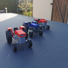 Picture of print of OpenRC Tractor model toy