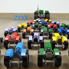 OpenRC Tractor model toy