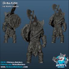 Skallagrim, the Weapon Master