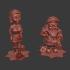 Santa and His Helper Miniature image