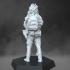 Soldier in ghillie helmet image