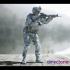 US Marine with assault rifle   USMC image