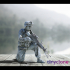 US Marine with light machine gun | USMC image