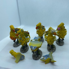 Picture of print of Rokabo - beast of burden pack animal (32mm scale miniature)