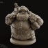 Dwarven Santa Miniature (Free until Dec 25th) image