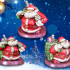 Dwarven Santa Miniature print image