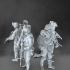 Modern soldiers set image