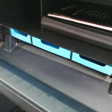 Picture of print of Toyota Tacoma Glove box drawers