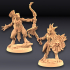 Goldmaw Lizard - 2 Modular Units (Ladies) image