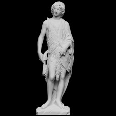 John the Baptist as a boy