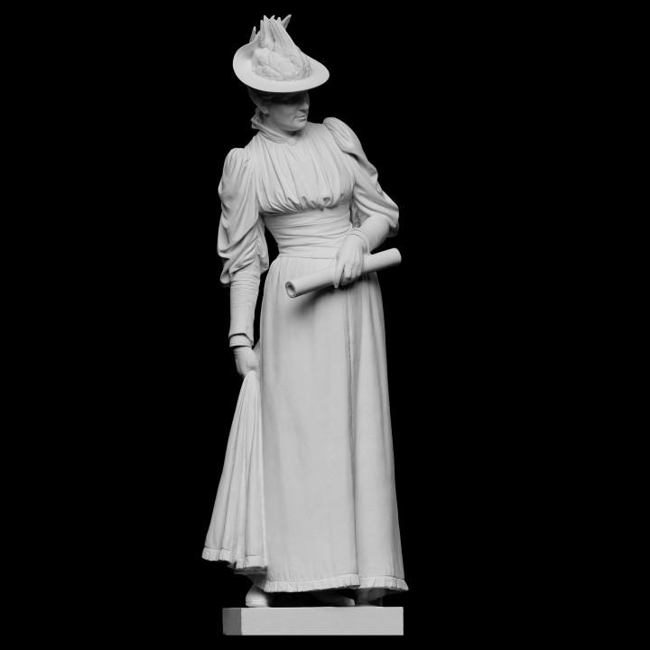 A Lady. Emilie Marie Rovsing, née Raaschou