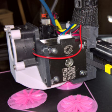 Picture of print of Ender 3 E3D Hemera Mount