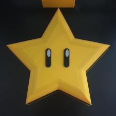 Star Mario Xmas Tree Topper