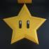 Star Mario Xmas Tree Topper image