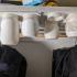 Under cabinet / Shelve storage jars image