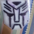 Transformers Light Up Hood Ornament image