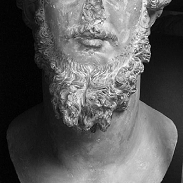 Colossal portrait of Lucius Verus