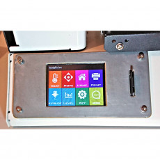 Robin MKS display fascia for MPSM v2 3D printer with SD card socket
