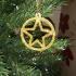 Circled Star Christmas tree decoration image