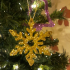 Snowflake Tree decorations image