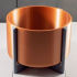 Copper Bowl Planter image