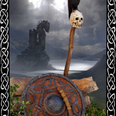 Picture of print of [GoYo] Viking shield