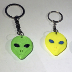 Alien And UFO keychains