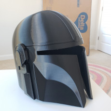 Picture of print of Mandalorian Helmet - v2 This print has been uploaded by TC Cramer