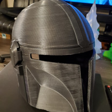 Picture of print of Mandalorian Helmet - v2 This print has been uploaded by James Dalgetty