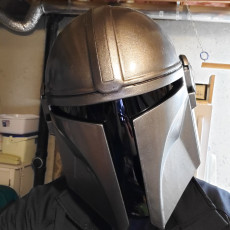 Picture of print of Mandalorian Helmet - v2 This print has been uploaded by Dale