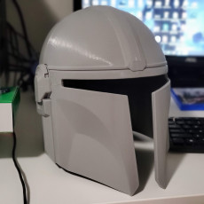 Picture of print of Mandalorian Helmet - v2 This print has been uploaded by Greg Secrist