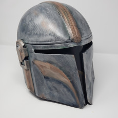 Picture of print of Mandalorian Helmet - v2 This print has been uploaded by CHAOSMakers