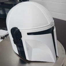 Picture of print of Mandalorian Helmet - v2 This print has been uploaded by Christian Ostermann