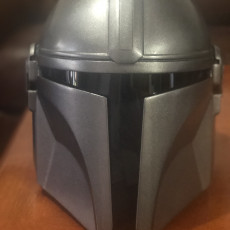 Picture of print of Mandalorian Helmet - v2 This print has been uploaded by Arminderpal Singh