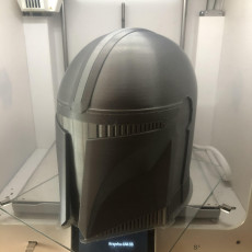 Picture of print of Mandalorian Helmet - v2 This print has been uploaded by Krzysztof Gawronski