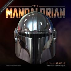 Mandalorian Helmet - v2