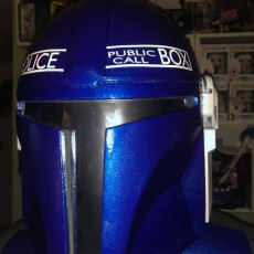 Picture of print of Mandalorian Helmet - v2 This print has been uploaded by David Dunlap
