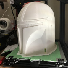 Picture of print of Mandalorian Helmet - v2 This print has been uploaded by anthony g