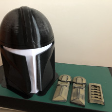 Picture of print of Mandalorian Helmet - v2 This print has been uploaded by Jean de Boo