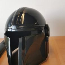 Picture of print of Mandalorian Helmet - v2 This print has been uploaded by Santeri Jukarainen