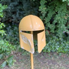 Picture of print of Mandalorian Helmet - v2 This print has been uploaded by Chris Childs
