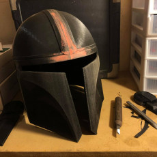 Picture of print of Mandalorian Helmet - v2 This print has been uploaded by James Gregory