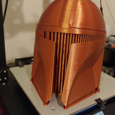 Picture of print of Mandalorian Helmet - v2 This print has been uploaded by Mark Register