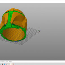 Picture of print of Mandalorian Helmet - v2 This print has been uploaded by Jon