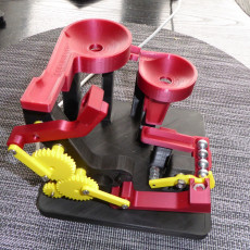 Picture of print of Double Lift Marble Run