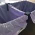 Soporte separador de bolsas de basura, garbage bag separator support image