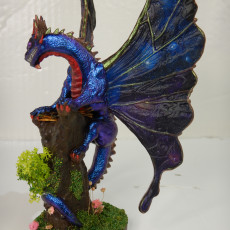 Picture of print of Butterfly Dragon